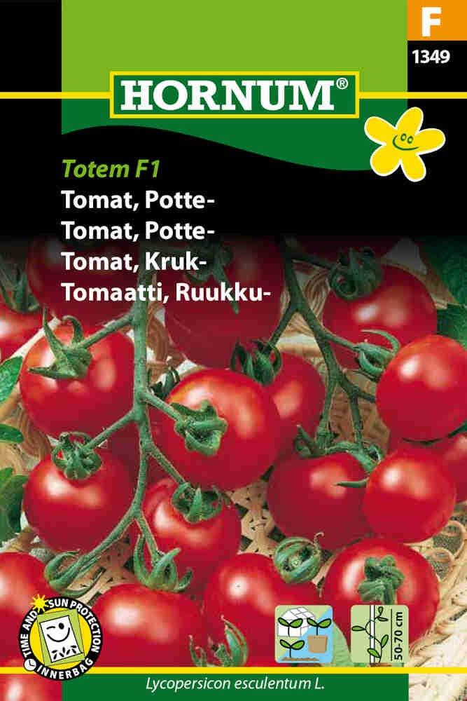 Tomatfrø - Potte - Totem F1
