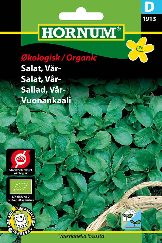 Økologisk Salat frø - Vår - Vit