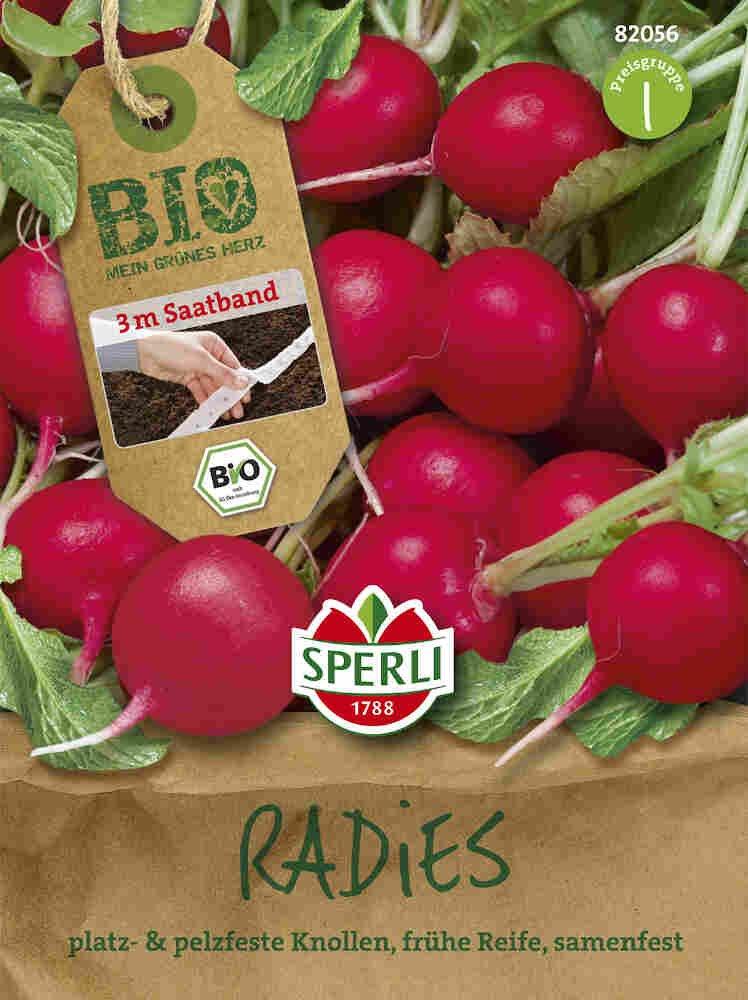 Radise, såbånd - Radies Rudolf  - Økologisk