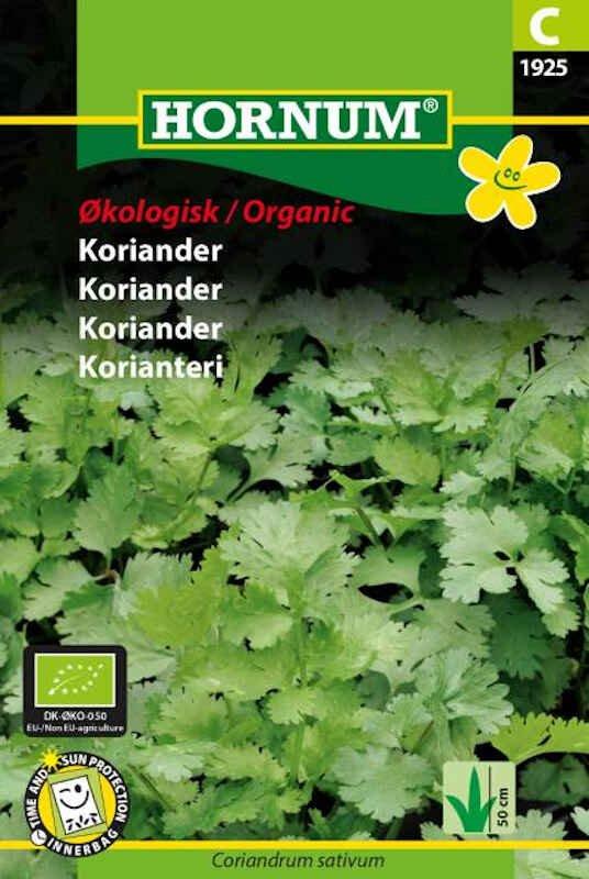 Økologisk Koriander frø
