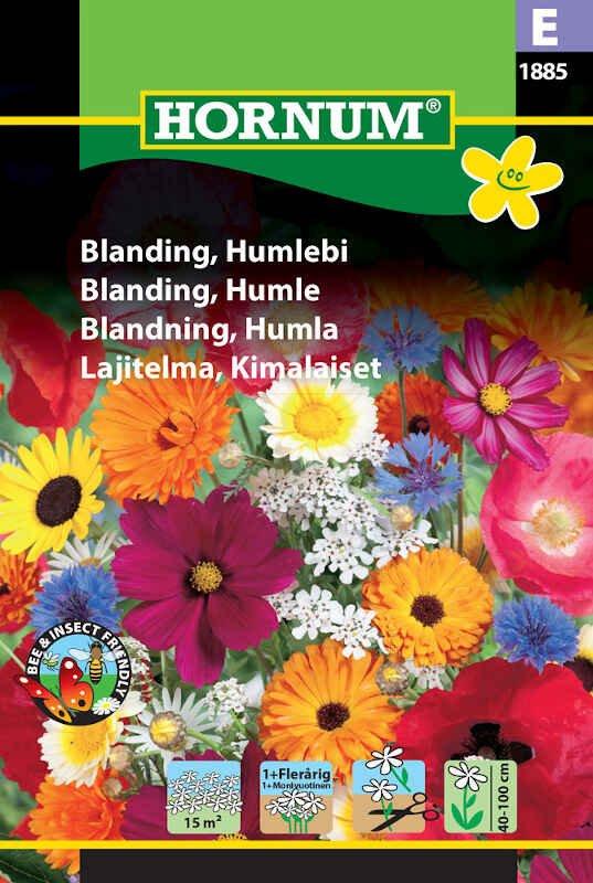 Blomster frøblanding - Humlebi