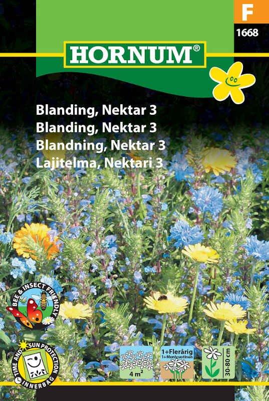 Blomster frøblanding - Nektar 3