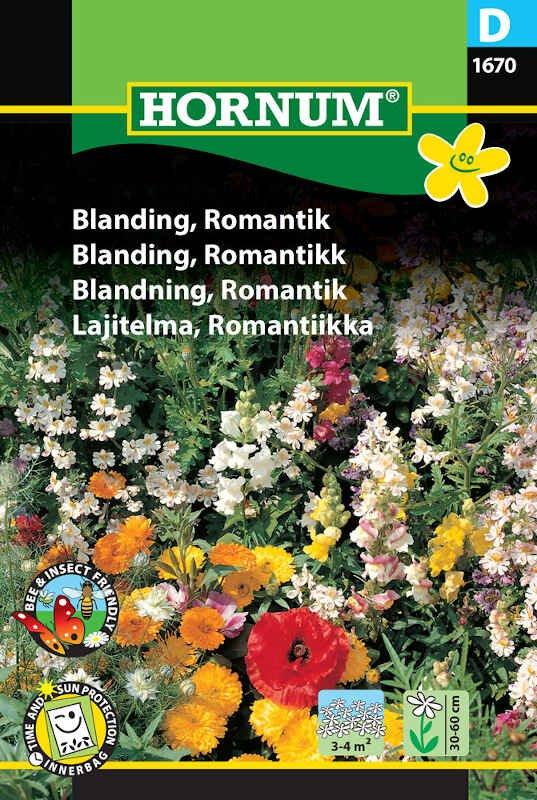Blomster frøblanding - Romantik