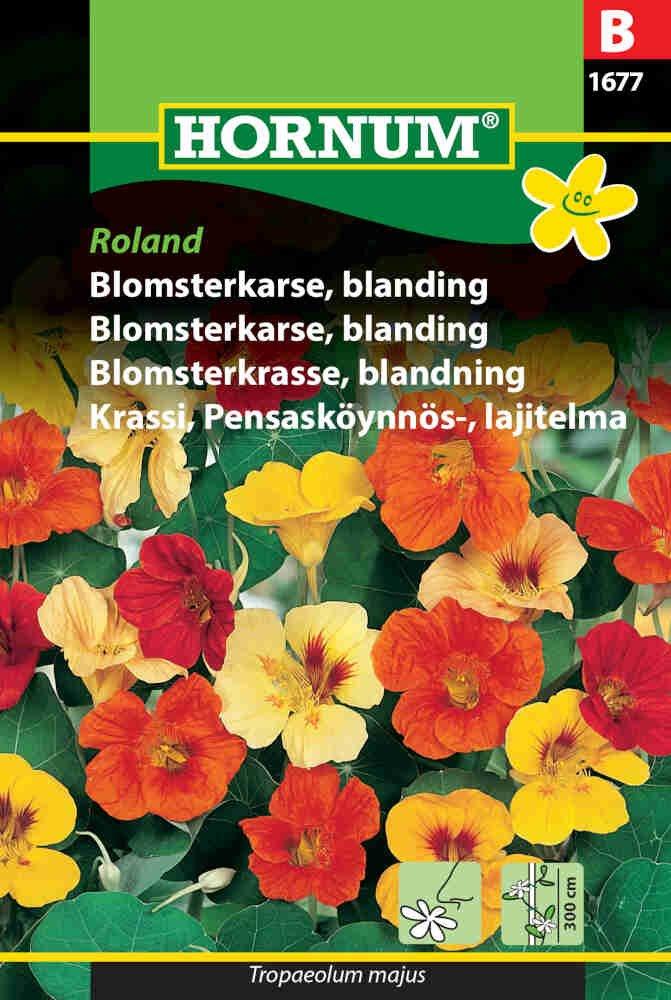 Blomsterkarse frø - blanding - Roland