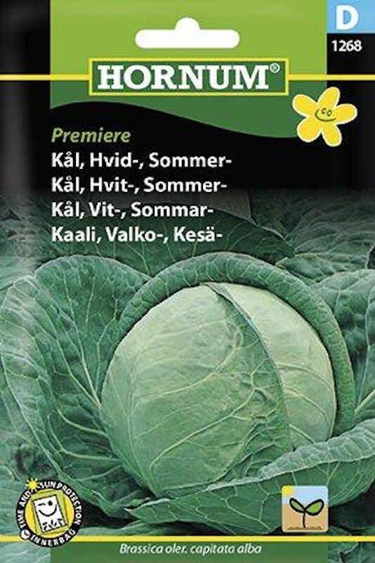 Kålfrø - Hvidkål - Sommer - Premiere