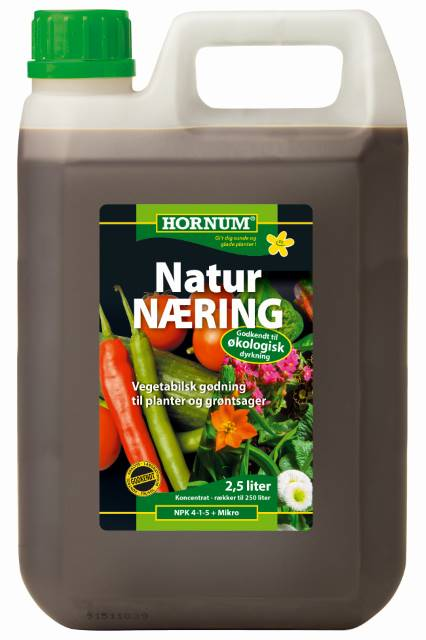 Natur Næring - 2,5 l. - HORNUM - Økologisk
