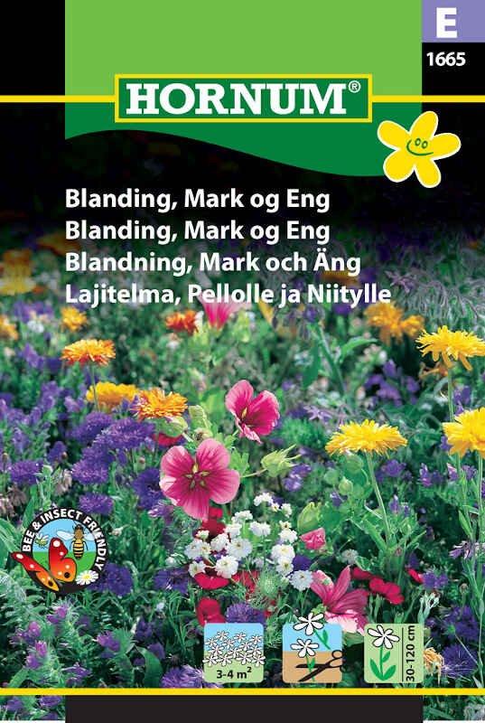 Blomster frøblanding - Mark og Eng