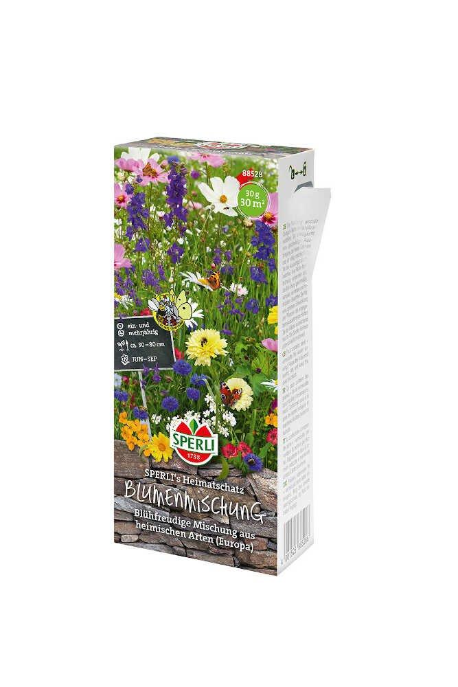 Blomster frøblanding - en og flerårige Nyhed