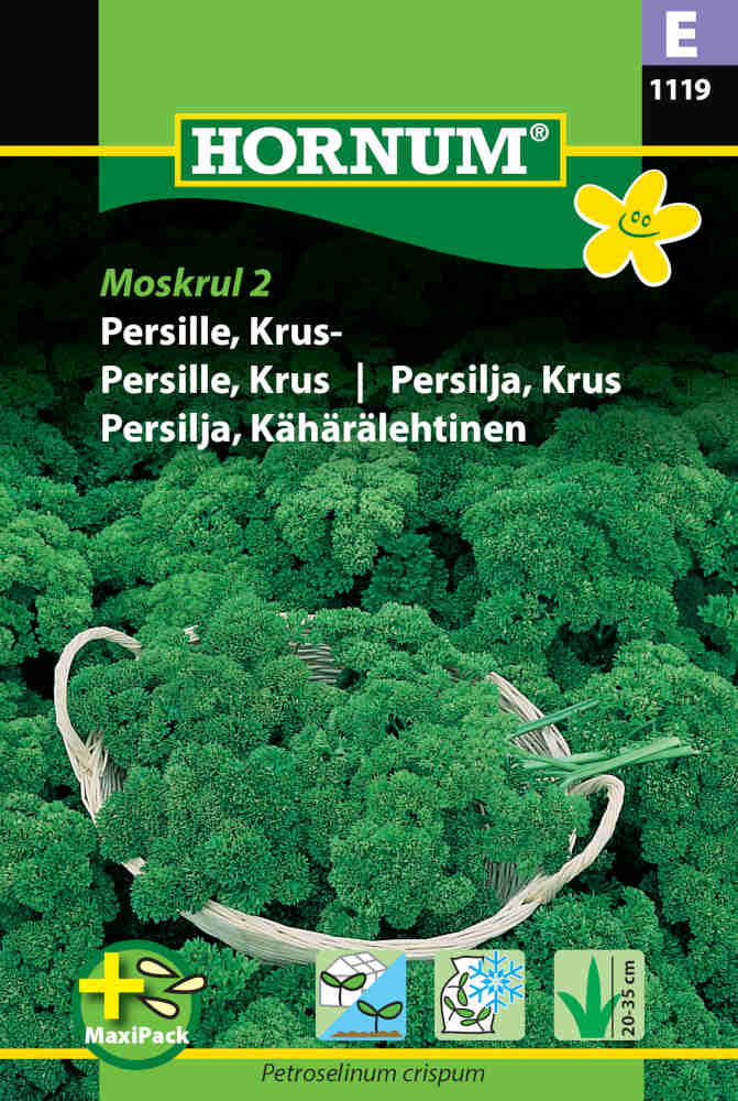 Persillefrø - Kruspersille - Mooskraus, MaxiPack