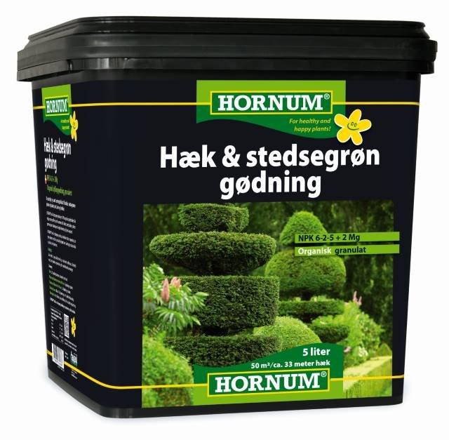 Hæk og stedsegrøngødning - Oraganisk 5L