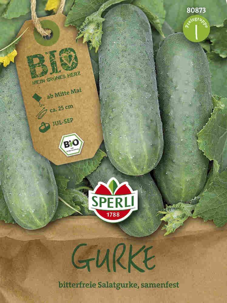 Drueagurker - Gurke  Marketmore - Økologisk