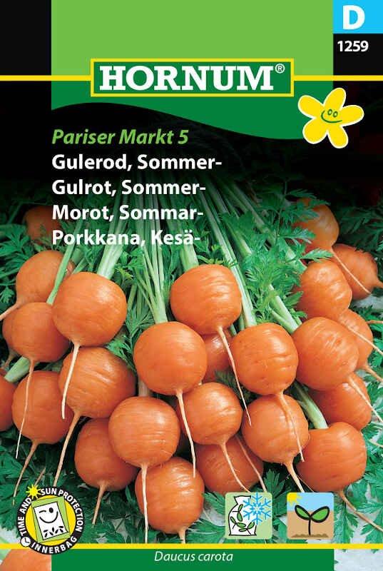 Gulerodsfrø - Sommergulerod - 'Pariser Markt 5'