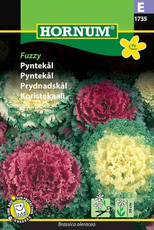 Pyntekål frø - Fuzzy
