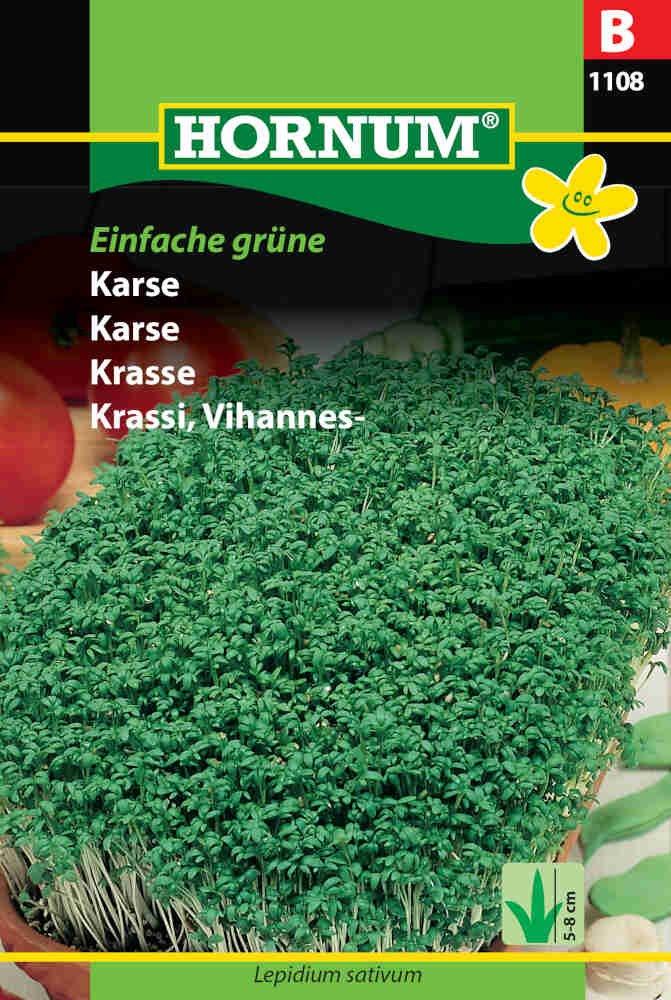 Karsefrø - Einfache grüne