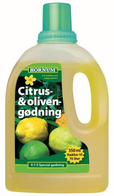Citrus- og Olivengødning  350 ml. - HORNUM