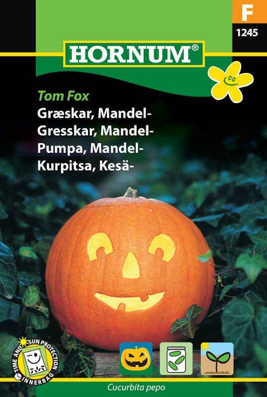 Græskarfrø - Mandel - Tom Fox