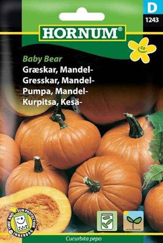 Græskarfrø - Mandel - Baby Bear
