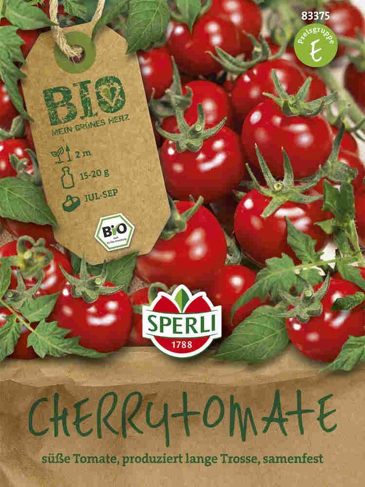 Tomatfrø - Cherrytomate Zuckertraube - Økologisk