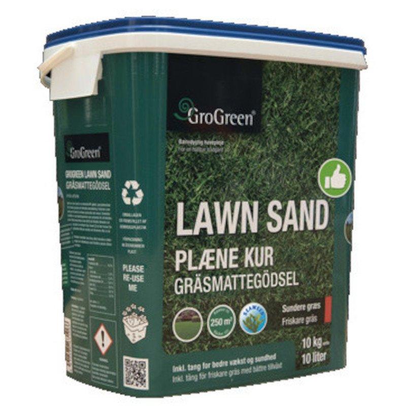 GroGreen Lawn Sand Plænekur 10kg