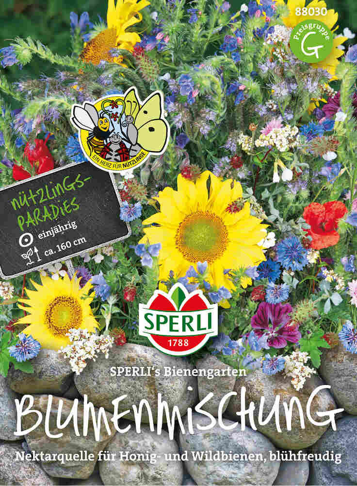 Blomster frøblanding til bier