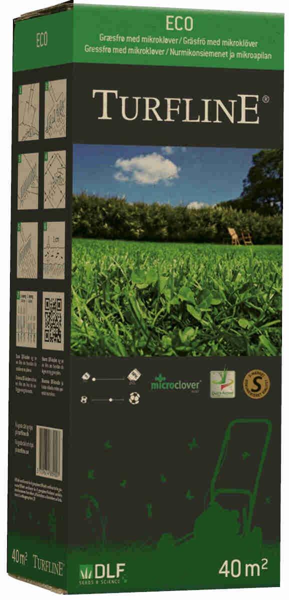 Turfline Eco (m/Microkløver) 1 kg - Græsfrø