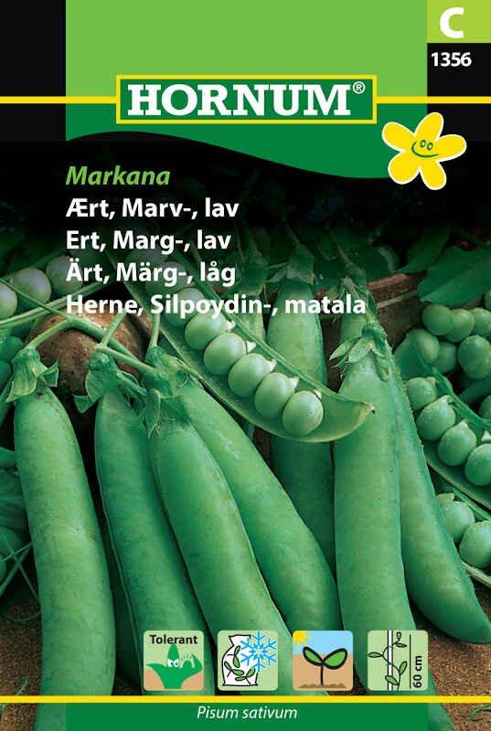 Ærtefrø - Marvært - lav, Markana