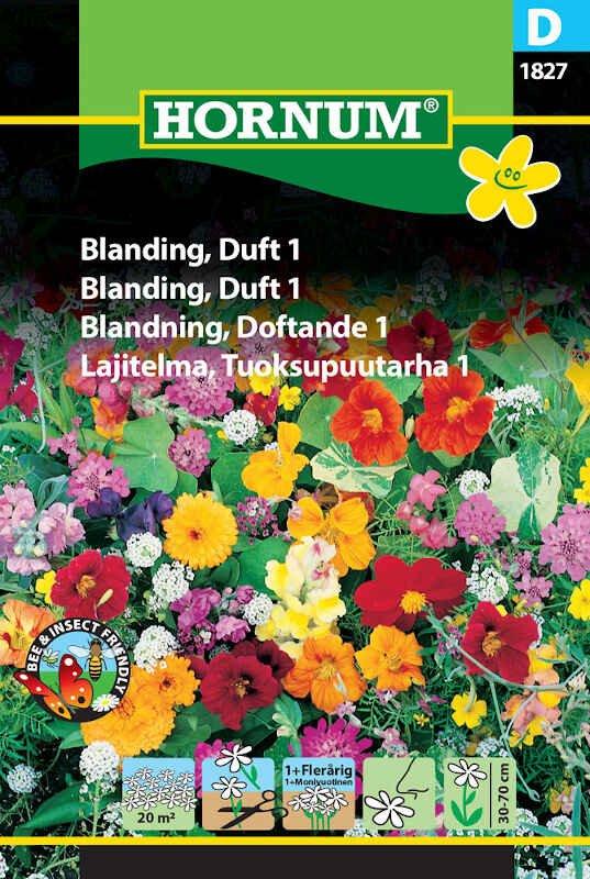 Blomster frøblanding - Duft 1