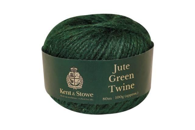 Jute Twine Green 80m 100gm