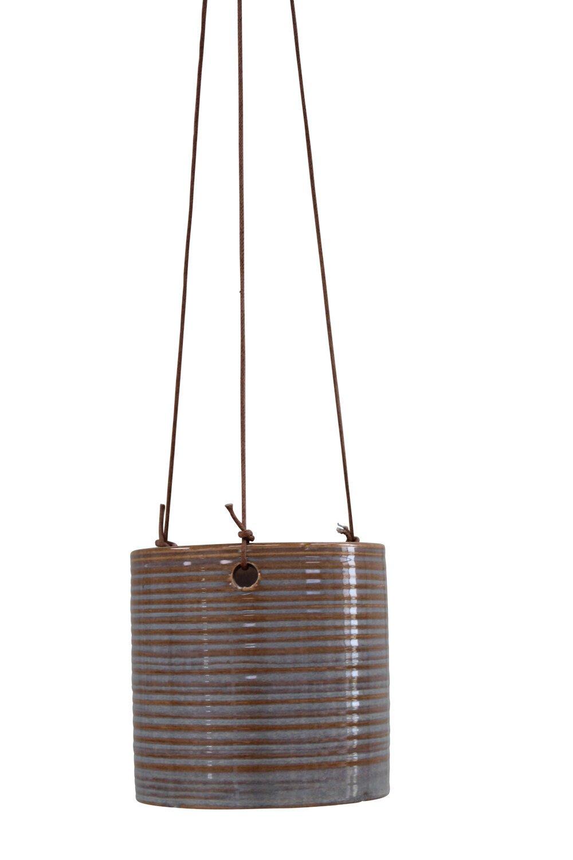 Hængepotte - Bellis Ampel 13,5cm Grey