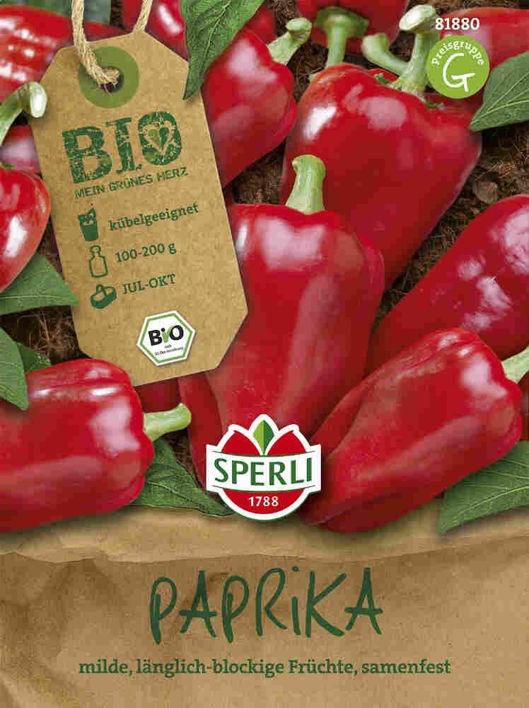 Peber - Paprika Jubilandska - Økologisk
