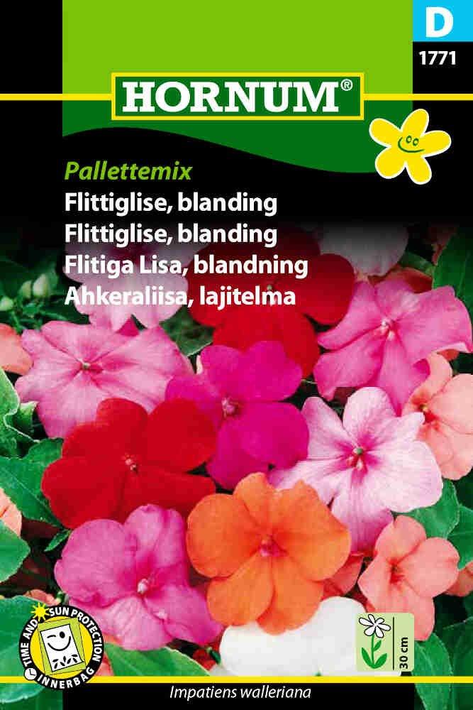 Flittiglise frø - blanding Pallettemix