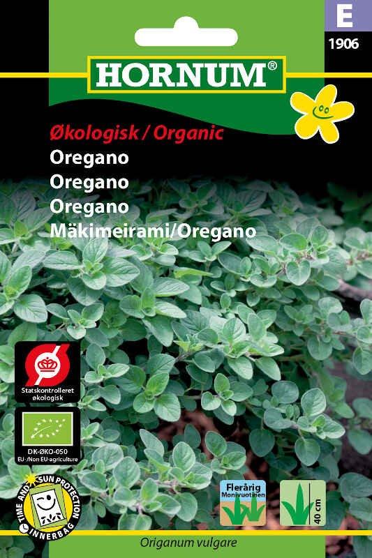 Økologisk Oregano frø