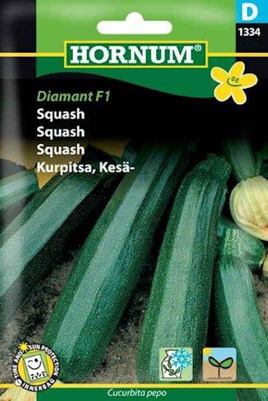 Squashfrø - Diamant F1