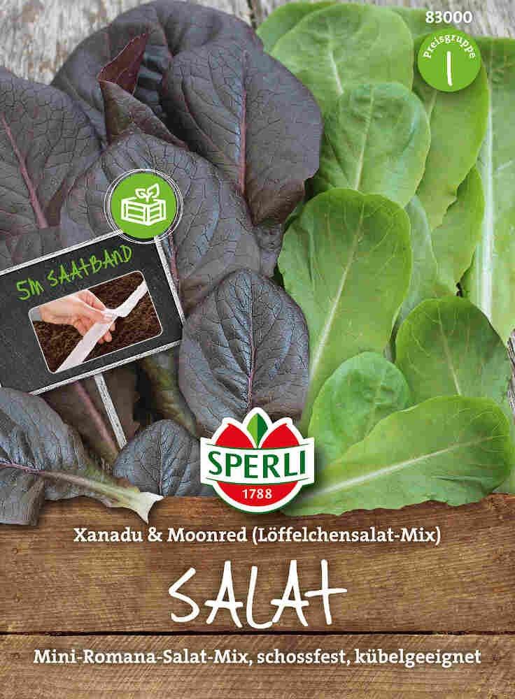 Salat, såbånd - Salat Xanadu & Moonred