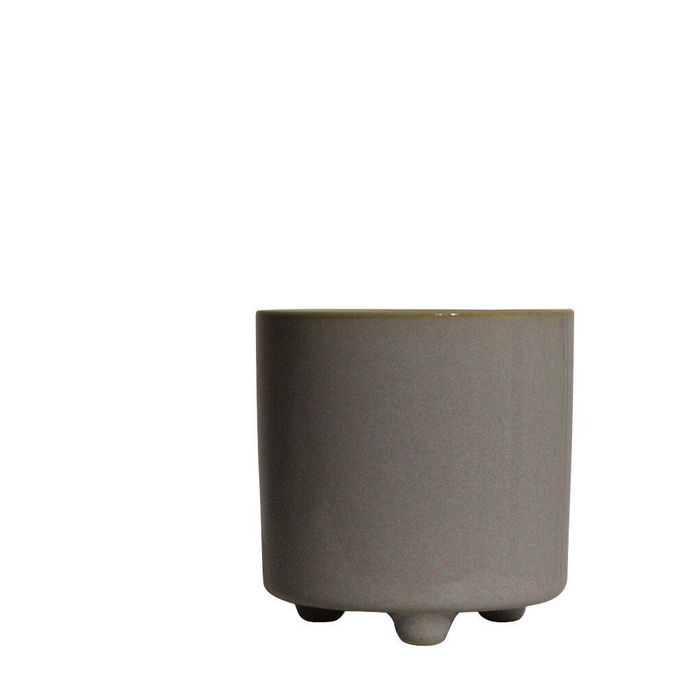 Skjuler - Bellis pot w/foot 12cm White