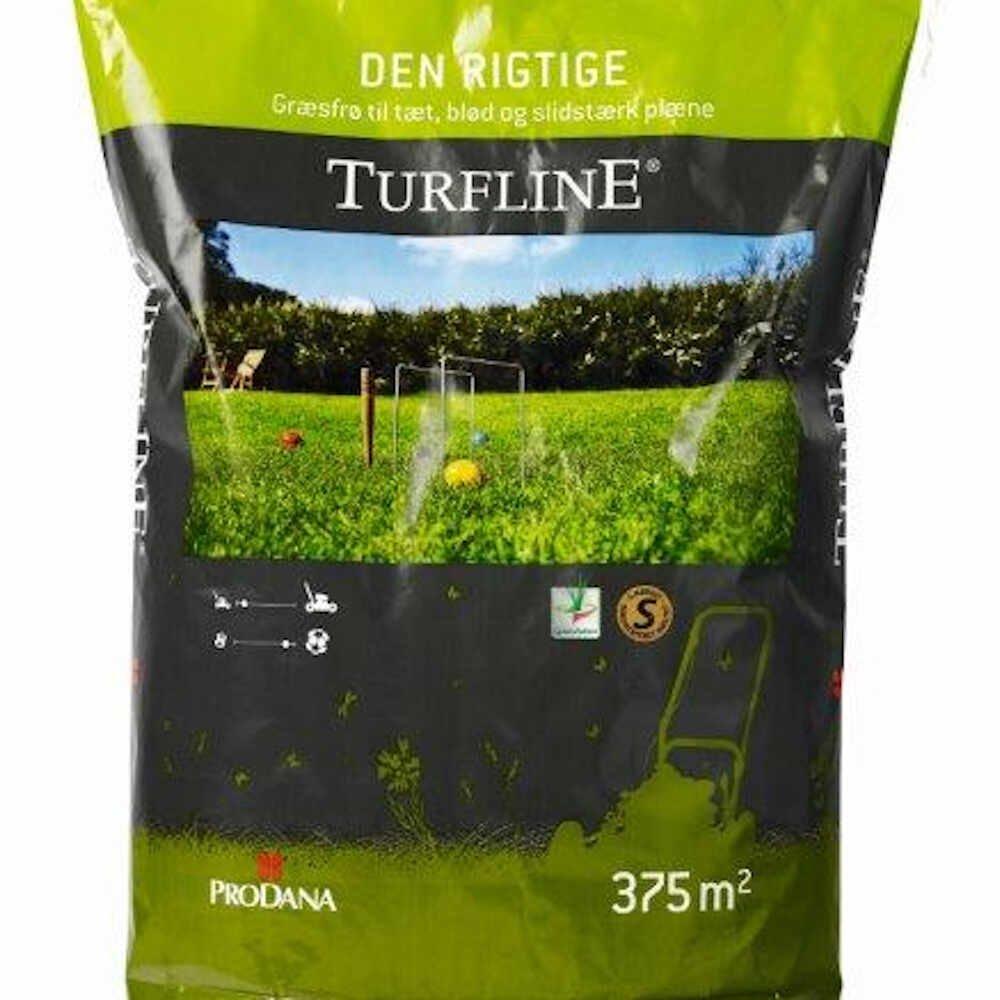 Græsfrø - Turfline Den rigtige Græsplæne, 7,5 kg