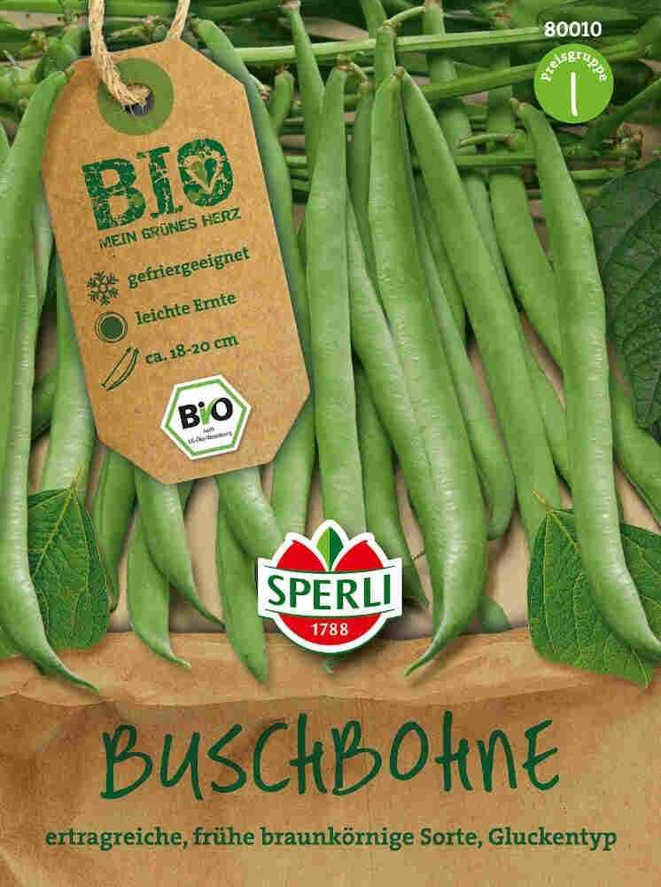 Buskbønner, type 1- Buschbohne Maxi - Økologisk