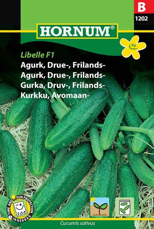 Agurkefrø - Drueagurk - Frilands - Libelle F1