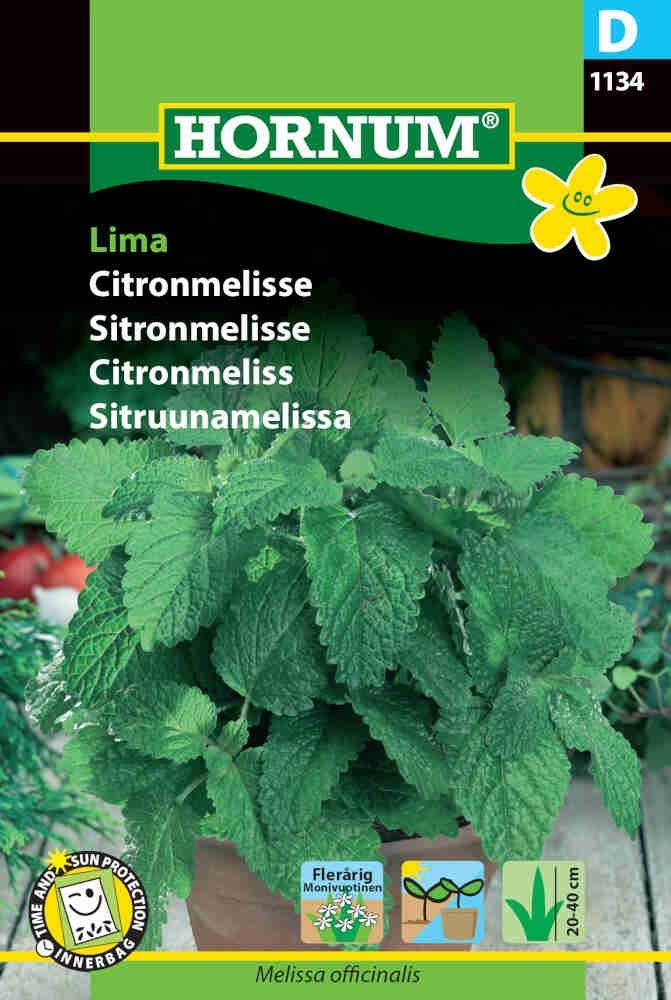 Citronmelisse frø - Lima