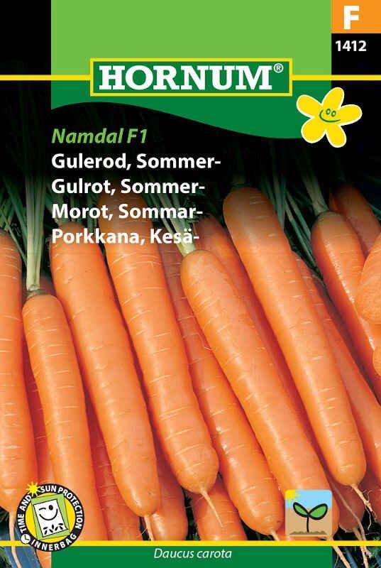 Gulerodsfrø - Sommergulerod - Namdal F1