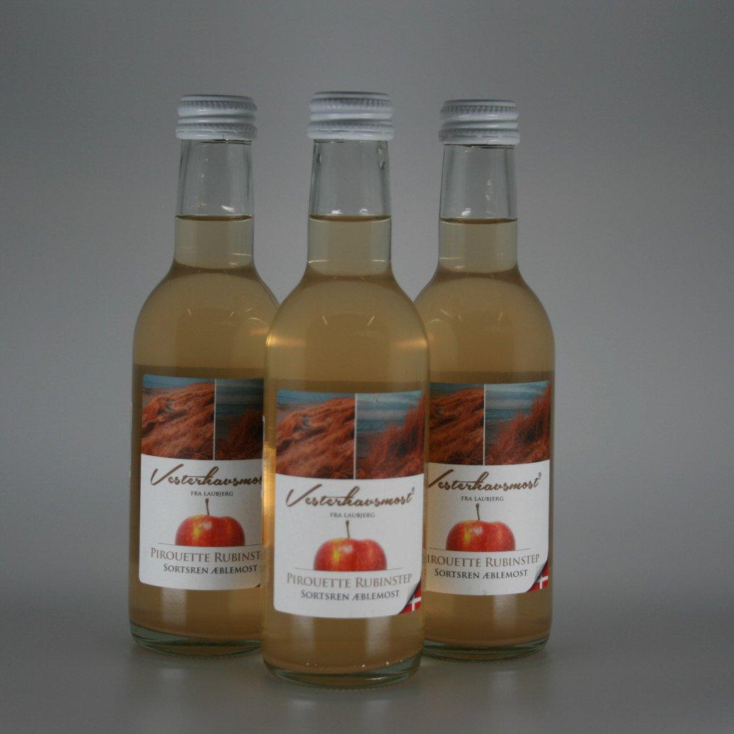 Vesterhavsmost Æblemost Pirouette Rubinstep 0,25L