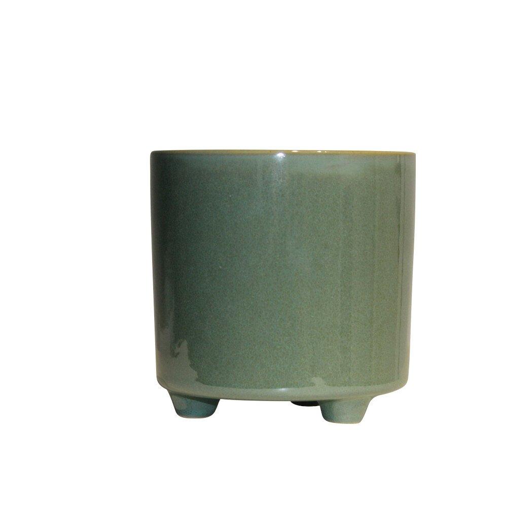 Skjuler - Bellis pot w/foot 12cm Green