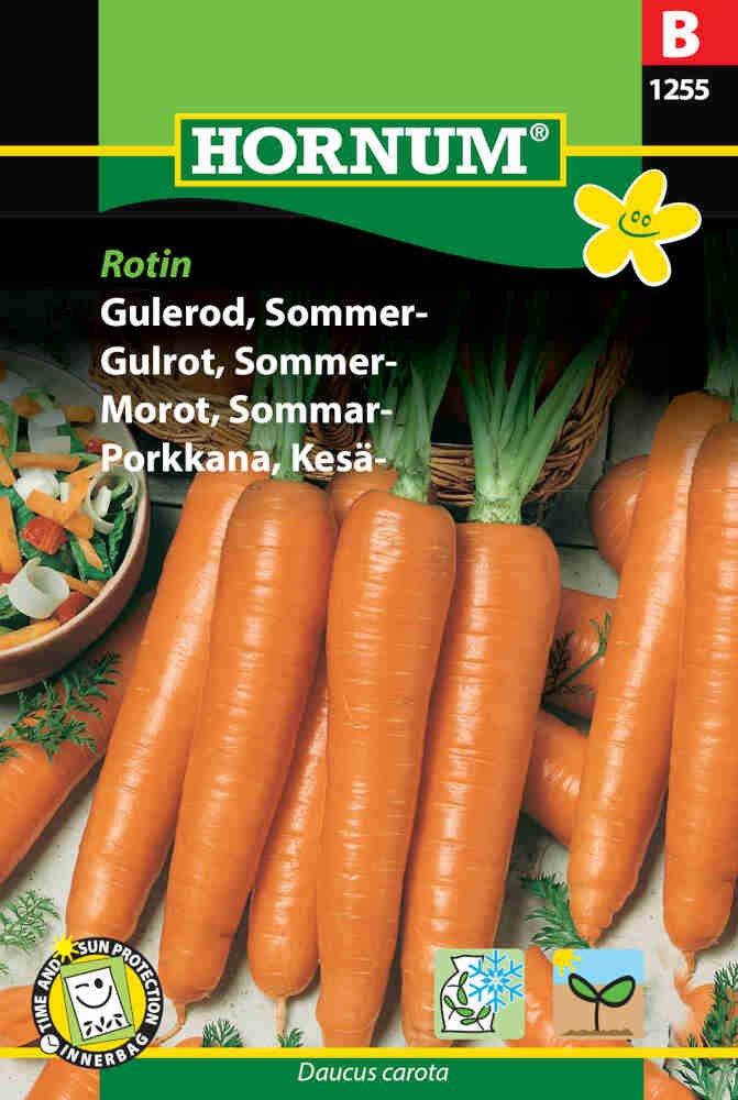 Gulerodsfrø - Sommergulerod - Rotin