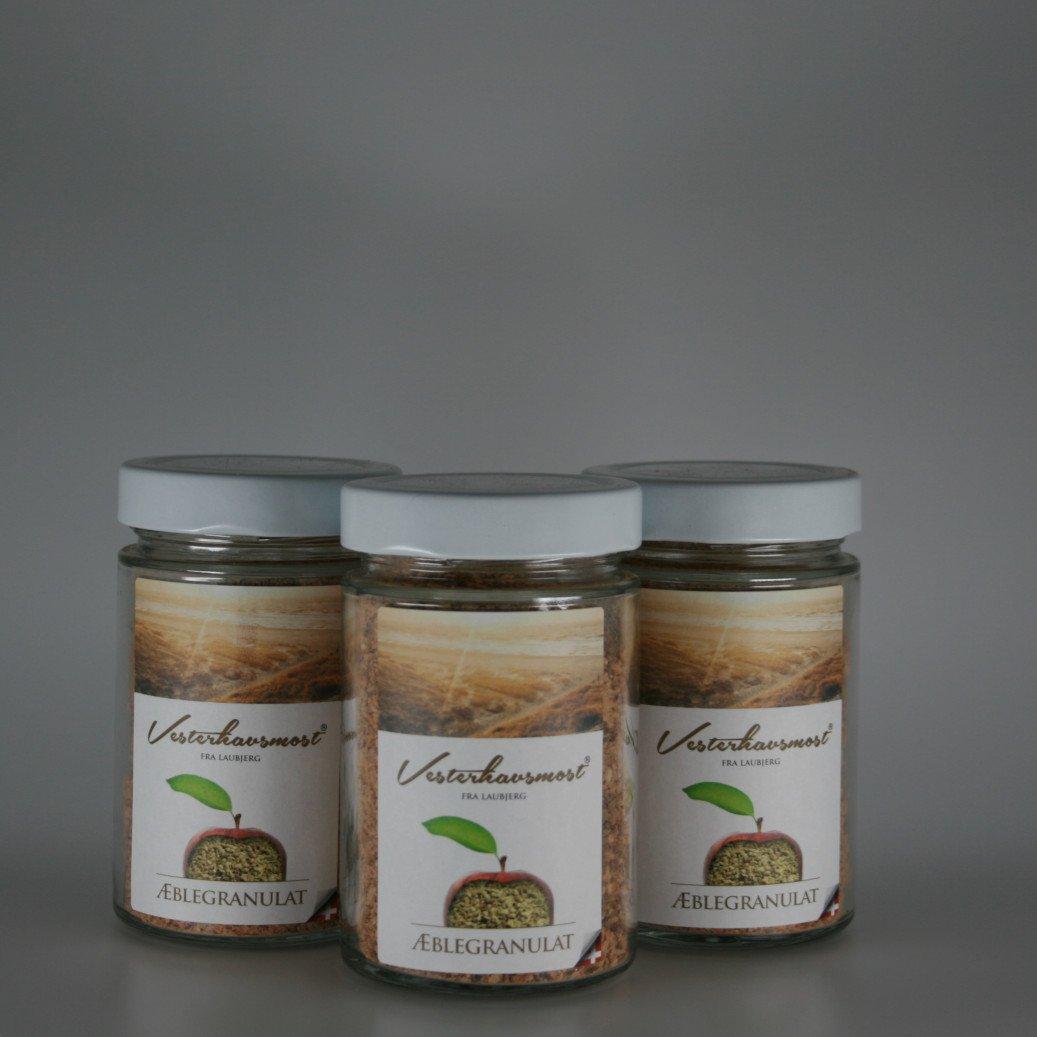 Æblegranulat fra Vesterhavsmost 100g