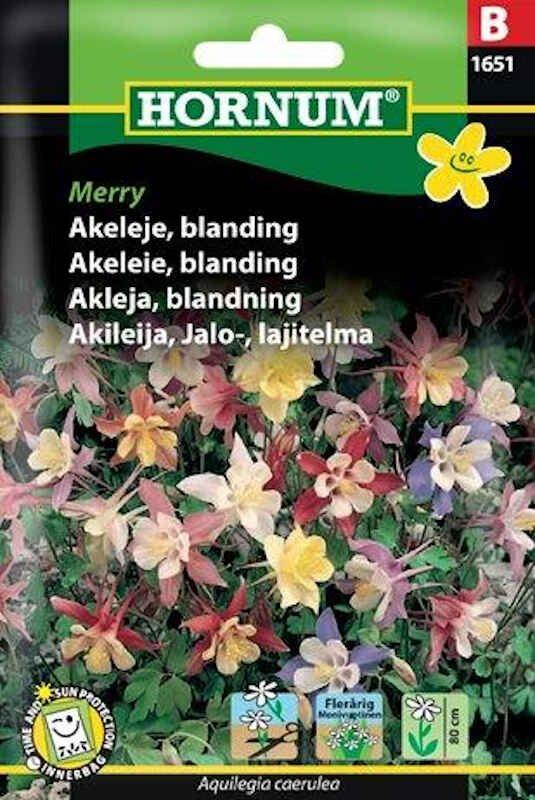 Akeleje frø - blanding Merry