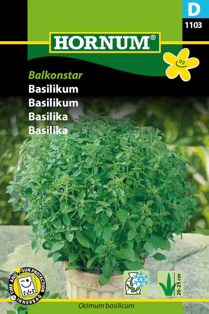 Basilikumfrø - Balkonstar