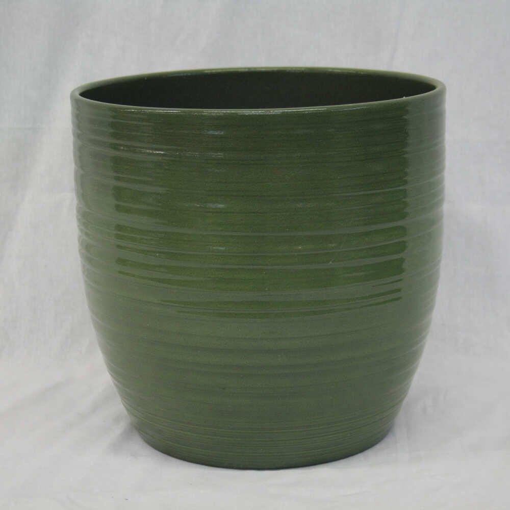 bergamo 16 cm. leave green