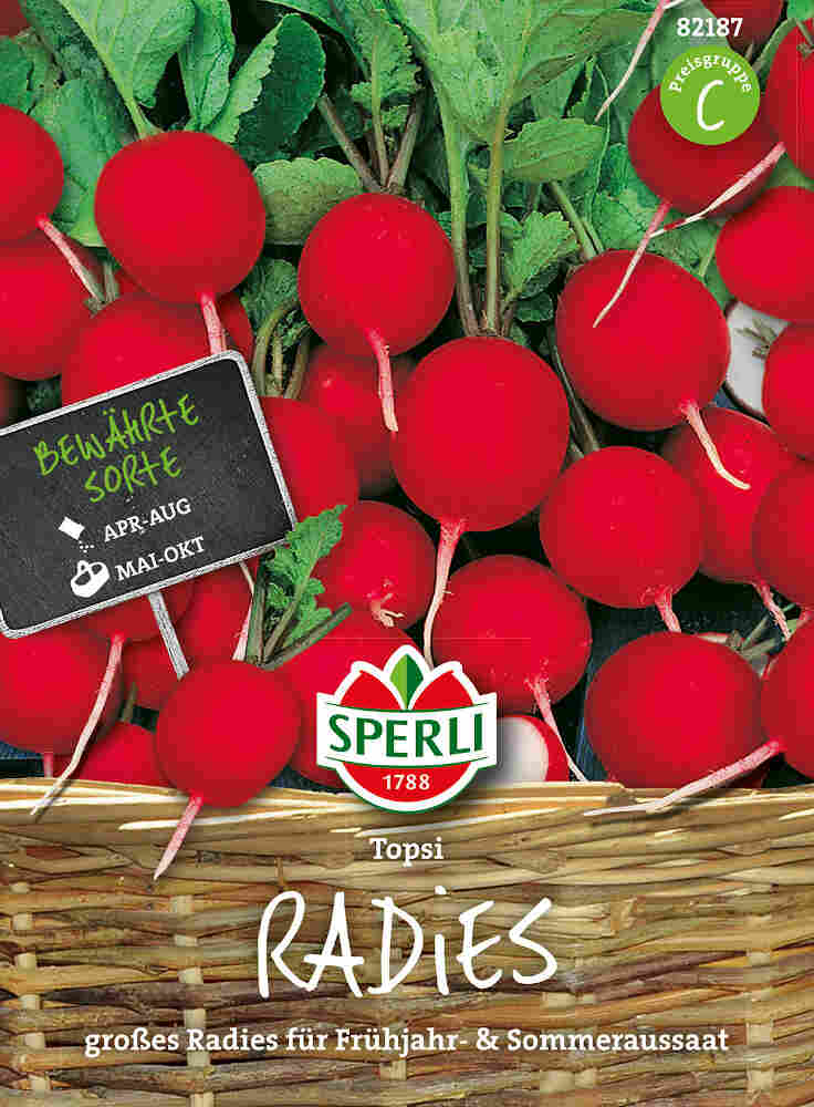 Radissefrø - Radies Topsi