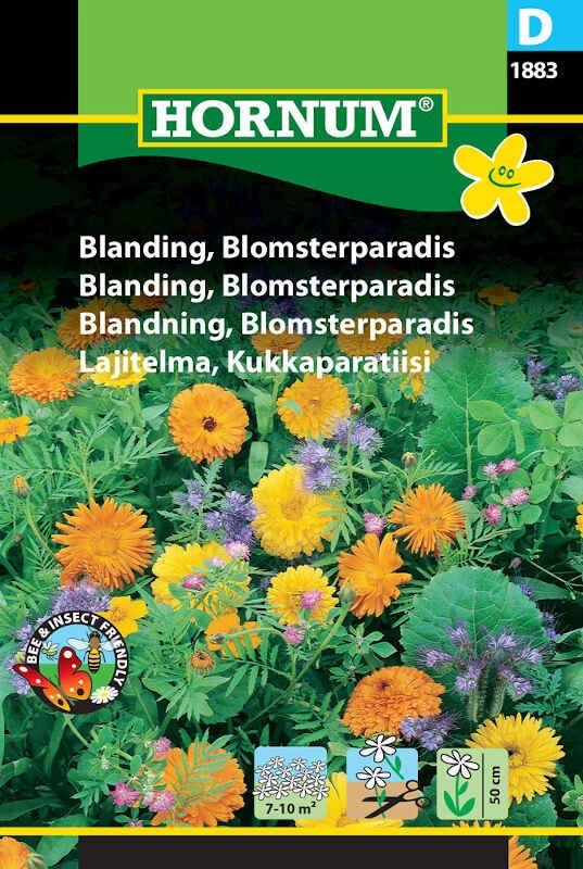 Blomster frøblanding - Blomsterparadis