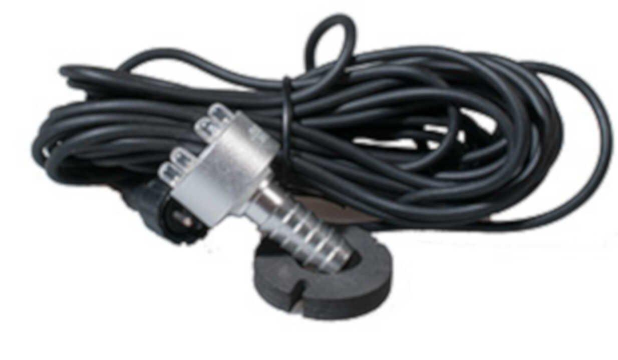 Lys vandstensring - LED 6 -  Gul uden transformator